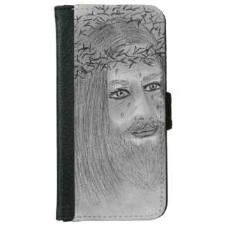 Crying Jesus iPhone 6 Wallet Case