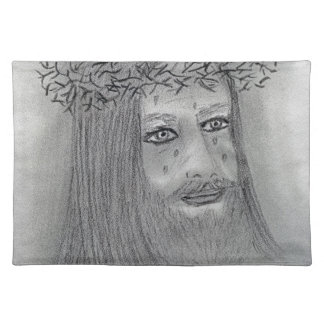 Crying Jesus Placemat