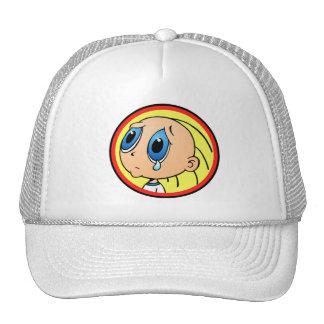 Crying Kid logo wear Cap