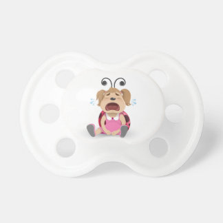 Crying ladybug girl dummy baby pacifiers