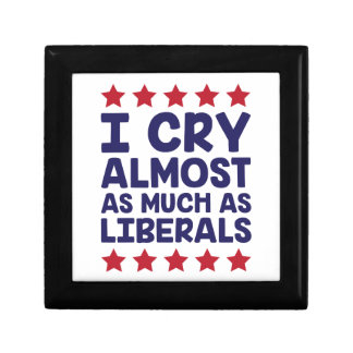 Crying Liberals Gift Box