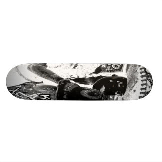 crying mexicana kisses skull skate board decks