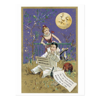 Crying Moon Postcard