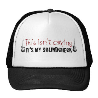 Crying sound check cap