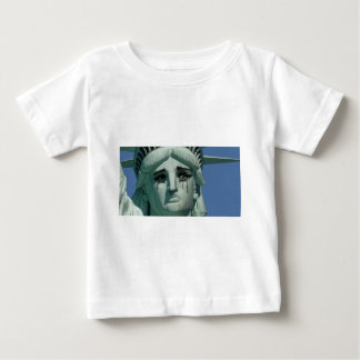 Crying Statue of Liberty Baby T-Shirt