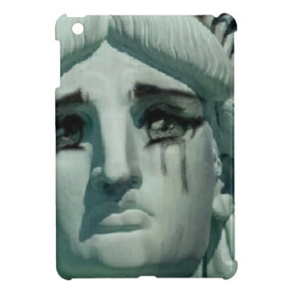 Crying Statue of Liberty Case For The iPad Mini