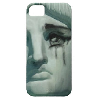 Crying Statue of Liberty iPhone 5 Case