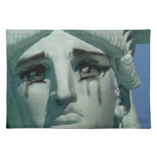 Crying Statue of Liberty Placemat