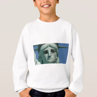 Crying Statue of Liberty Sweatshirt