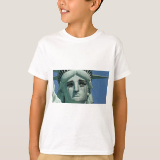 Crying Statue of Liberty T-Shirt