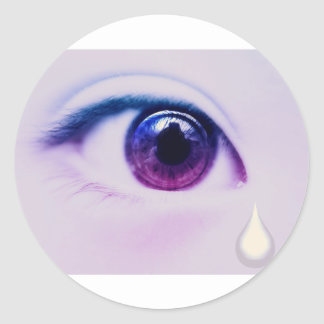 Crying Tears Sticker