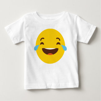 Crying with laugher emoji baby T-Shirt