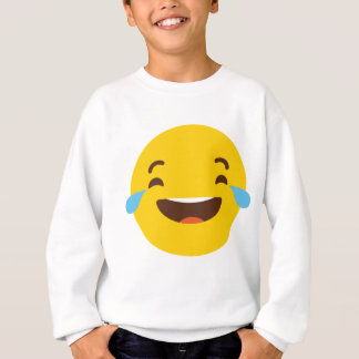 Crying with laugher emoji sweatshirt