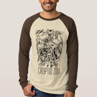 Cryptid Zoo Monster Mash-up Tee