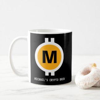 Crypto Brew Monogram Coffee Mug