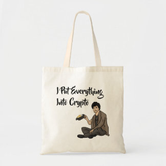 Crypto Currency Cautionary Tale Tote Bag