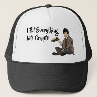 Crypto Currency Cautionary Tale Trucker Hat