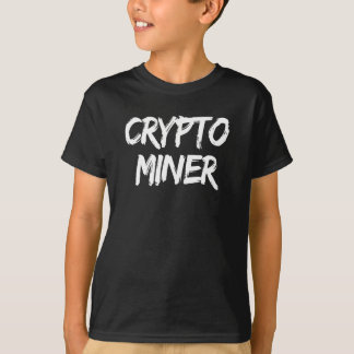 Crypto Miner Cryptocurrency Print T-Shirt