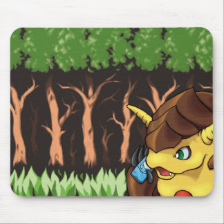 Crypto Trees Mouse Pad