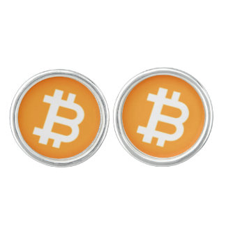 Cryptocurrency Bitcoin Cufflinks