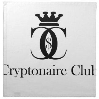 Cryptonaire Club Napkin