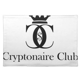 Cryptonaire Club Placemat