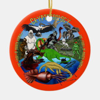 Cryptozoology Ornament