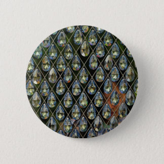 Crystal 6 Cm Round Badge