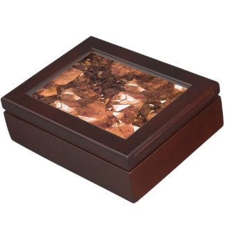 Crystal Amber Keepsake Box