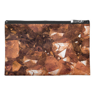 Crystal Amber Travel Accessory Bag