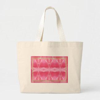 Crystal Art : Morning Dew on Rose Petal Tote Bag