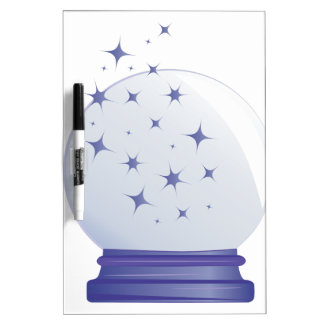 Crystal Ball Dry-Erase Boards