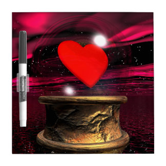 Crystal ball for love - 3D render Dry-Erase Boards