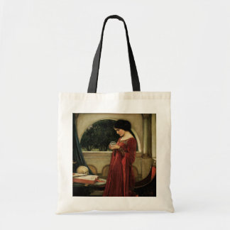 Crystal Ball, JW Waterhouse, Vintage Victorian Art Bags