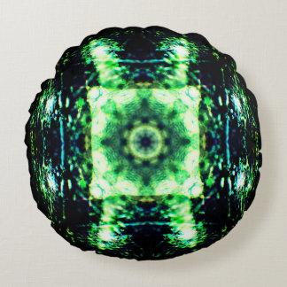 Crystal Ball Mandala Round Cushion