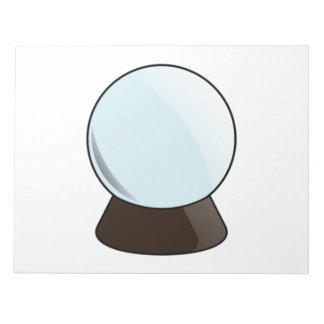 Crystal Ball Notepad