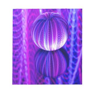 crystal ball reflect notepad