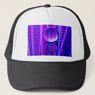 crystal ball reflect trucker hat