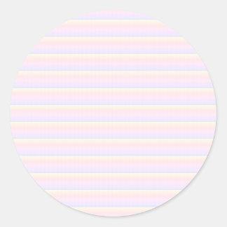 CRYSTAL BLUE  Classic Round Sticker