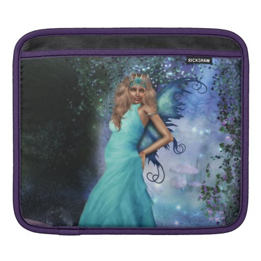Crystal Blue Sleeves For iPads