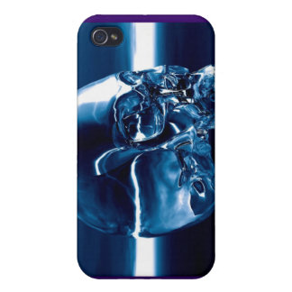 crystal blue iPhone 4 cases