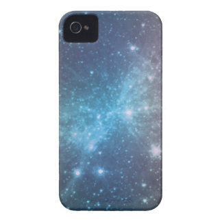 Crystal Blue Space Art iPhone 4 Case