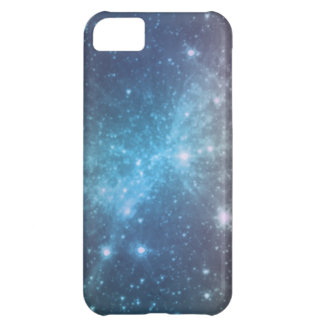Crystal Blue Space Art iPhone 5C Case