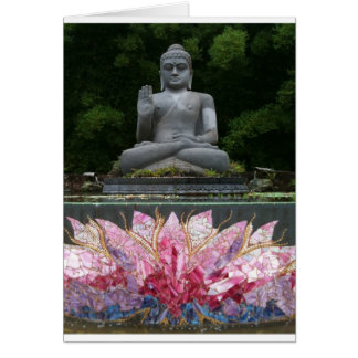 Crystal Buddha  Greeting Card