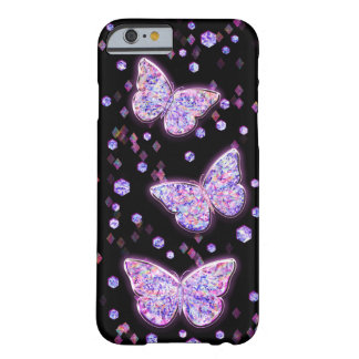 Crystal Butterflies Barely There iPhone 6 Case