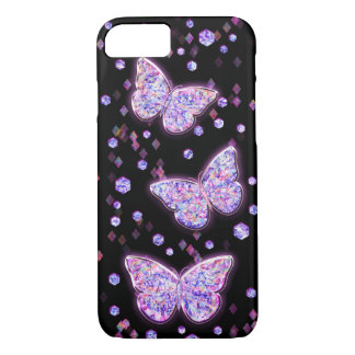 Crystal Butterflies iPhone 7 Case