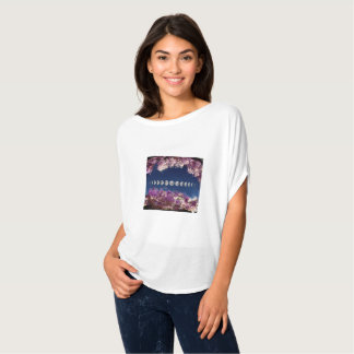 Crystal Cavern Amethyst with Moon Phases T-Shirt