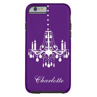 Crystal Chandelier iPhone 6 Tough purple Tough iPhone 6 Case