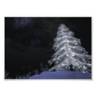 "Crystal Christmas Tree #2 7""x5"" Kodak Photo Print"