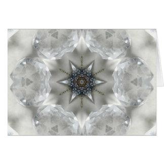 Crystal Clarity Mandala Card